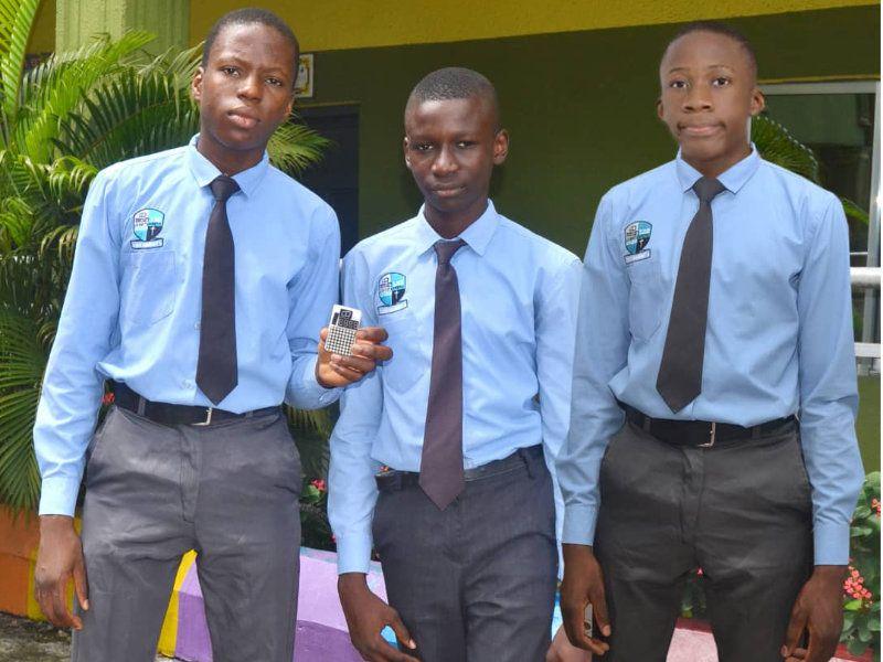 Africa winners Success, Chris-Jacob, Sharon