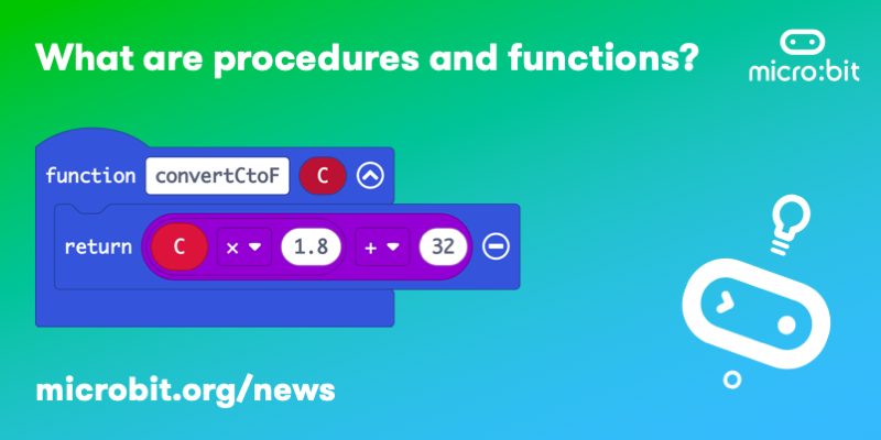 What are procedures and functions?