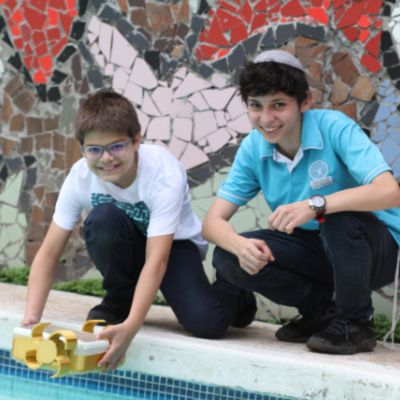 Samuel and Arieh