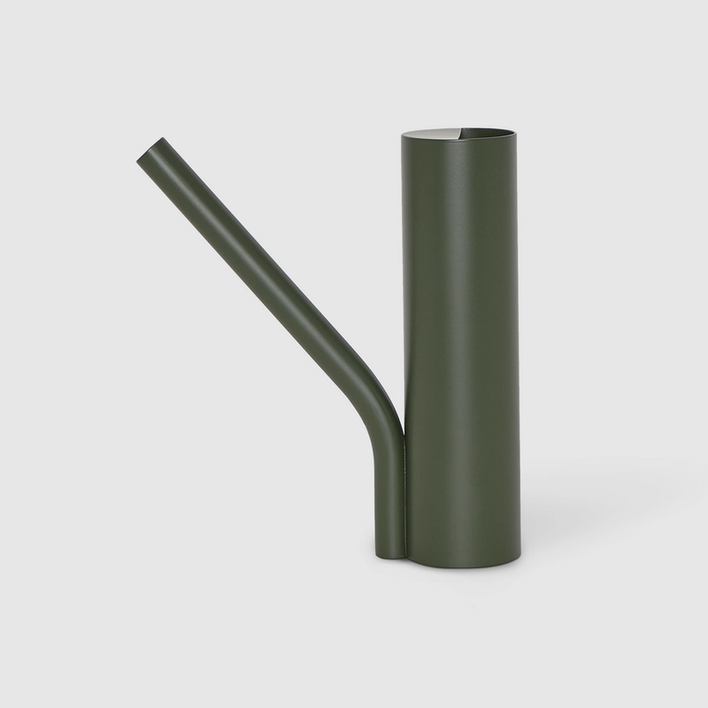 Grab Watering Can in Olive Green