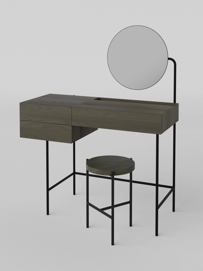 Composed Stool + Forage