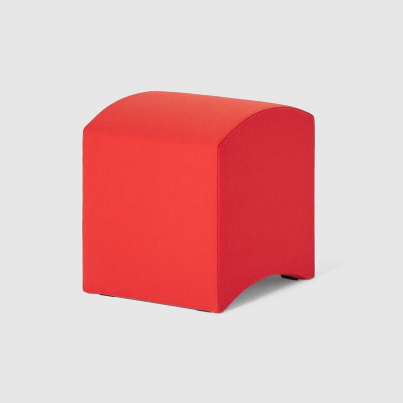 Shapely Stool Clement Red
