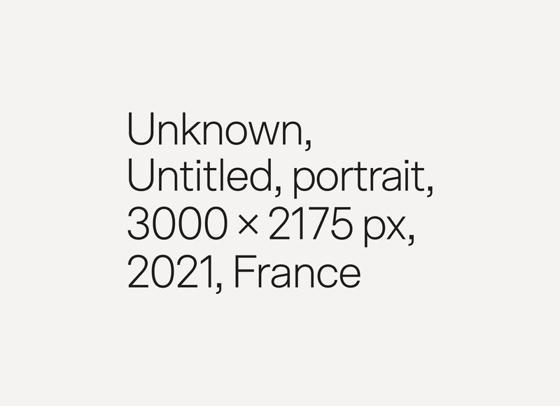 Unknown, Untitled