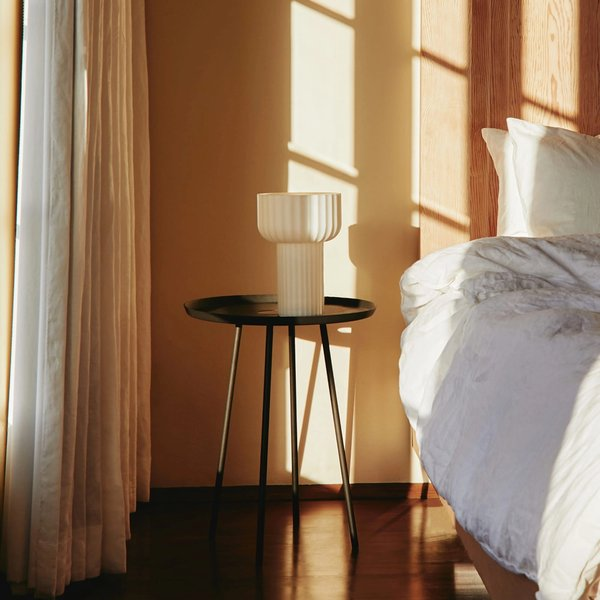 Word Table Light and Rove Side Table