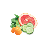 Citrus salad. Refreshing and zesty, with a pinch of chopped herbs.