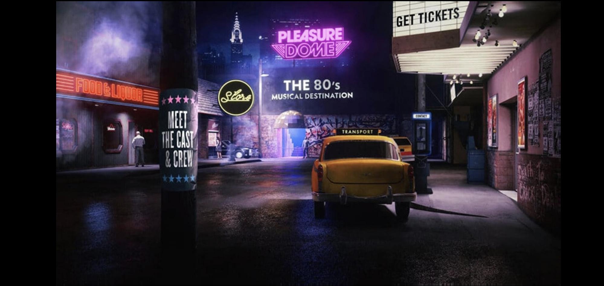 Pleasuredome The Musical - digital marketing