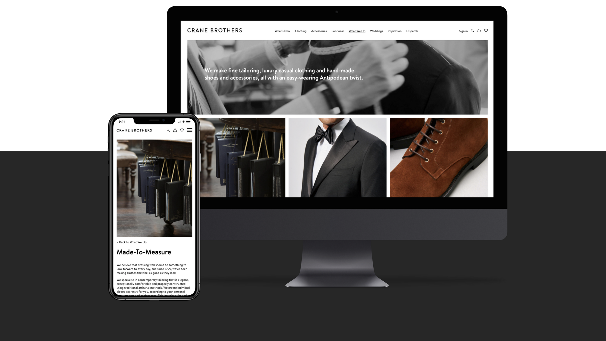 Crane Brothers - digital marketing