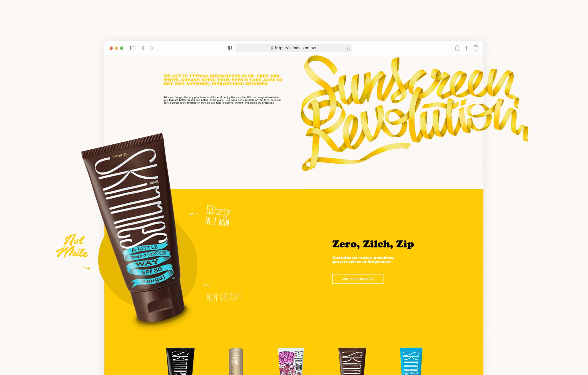 Skinnies - digital marketing
