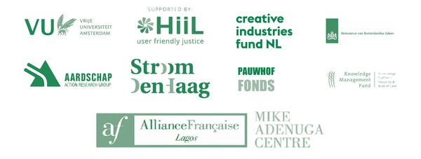 logos of international partners