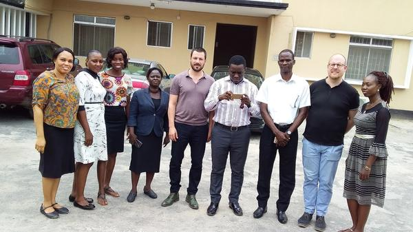 Visiting the Lagos Chapter of the Legal aid Counsel Nigeria (2019)