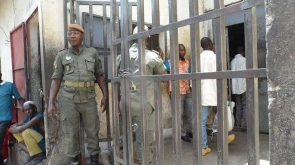 Picture: The entrance of Bamenda Central Prison, where the prisoners' court takes place