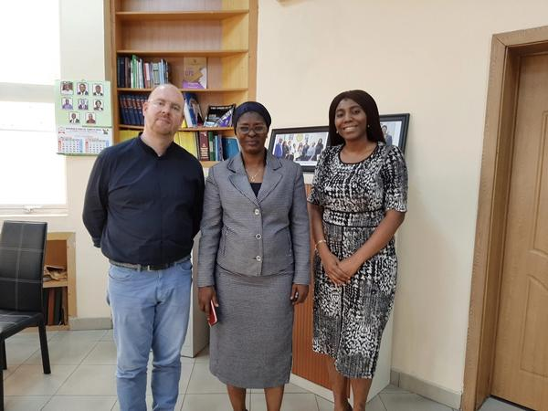 Visiting the Director of the Office of the Public Defender in Lagos (2020)