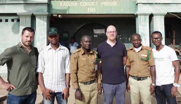 Visiting Kaduna Convict Prison in 2020.