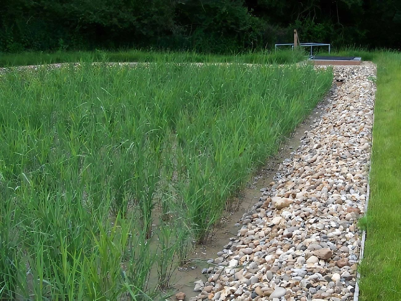 Brickendon Waste Water Treatment Works - Project carried out by Eco~tech Systems in Hertfordshire. Different view.