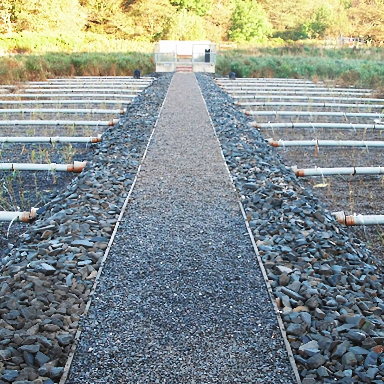 Crynant Wastewater Treatment Works - Project carried out by Eco~tech Systems in Neath Port Talbot. End result.