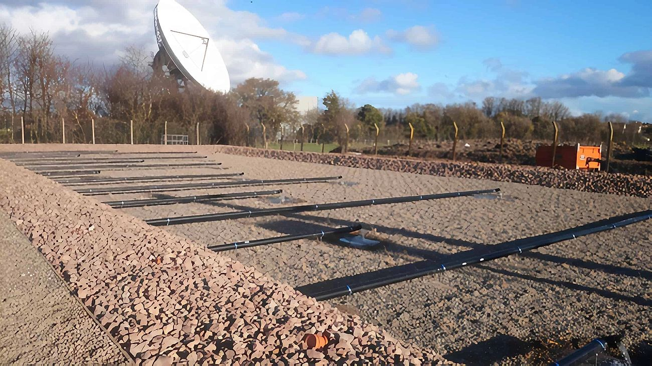 Kingstone & Madley Wastewater Treatment Works - Project carried out by Eco~tech Systems in Herefordshire. Progress of the work.