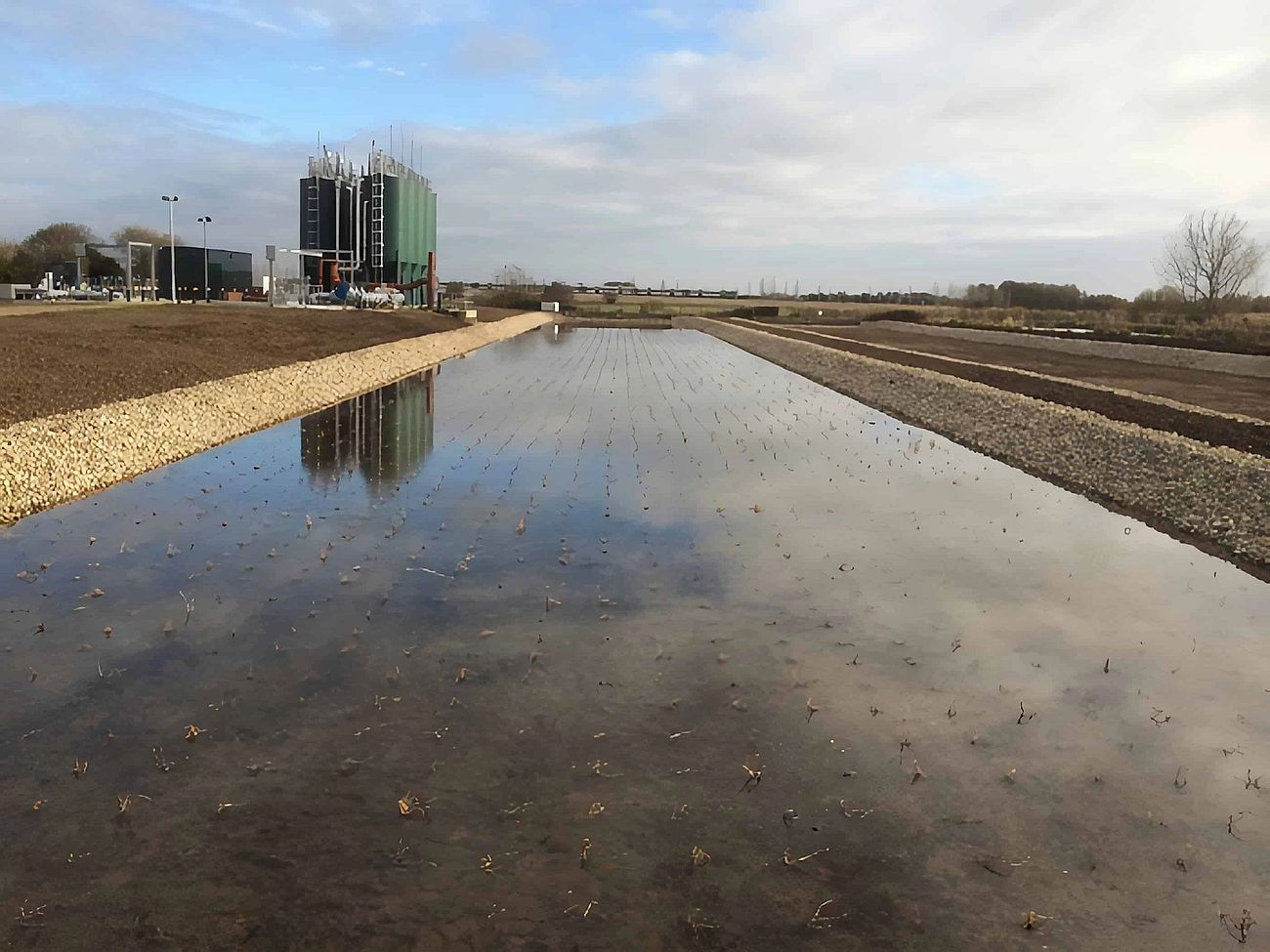 Lidsey Wastewater Treatment Works - Project carried out by Eco~tech Systems in West Sussex.