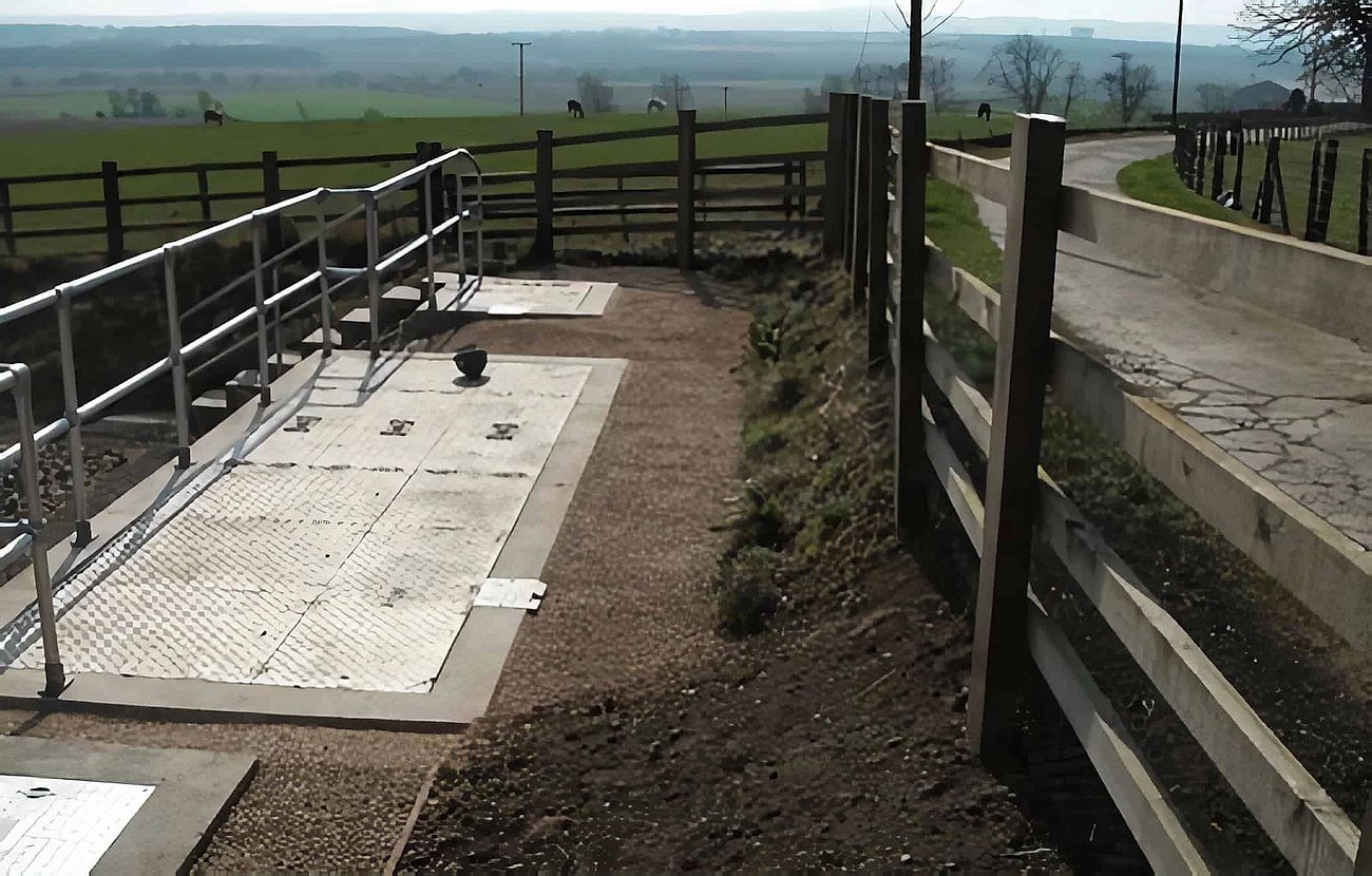 Mains of Balhall Wastewater Treatment Works - Project carried out by Eco~tech Systems in Angus. Final stage of work.