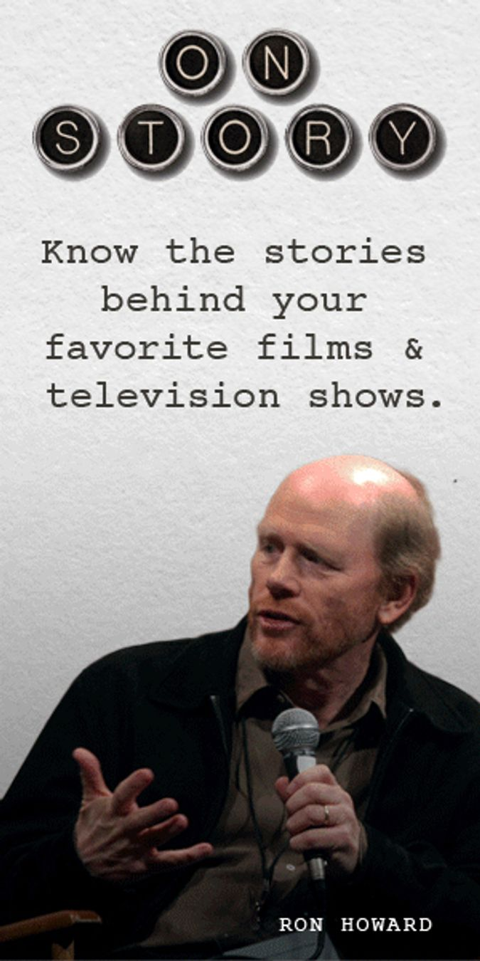 Film legend Ron Howard talks writing, film making and a lifetime in the movie business