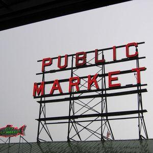 Pike Place Public Market Credit: Kelley Lynn Kassa