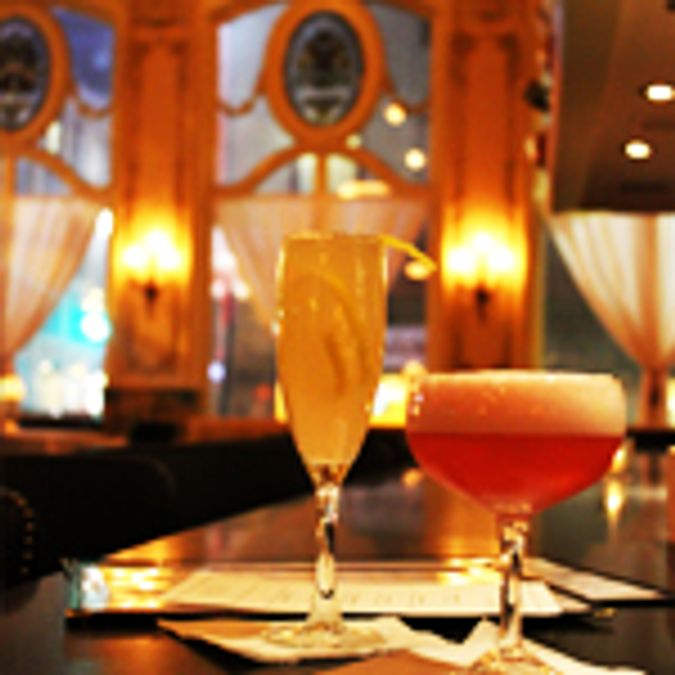 Have a cocktail at The Dorrance