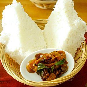 Milk rice from Sri Lanka
