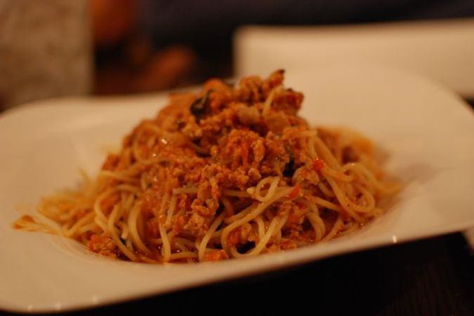 The best bolognese sauce - it's been made with hours of love