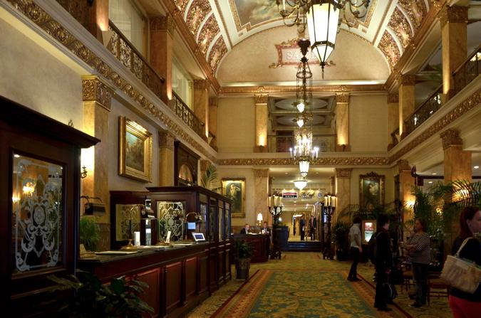 Lobby of the Pfister Hotel