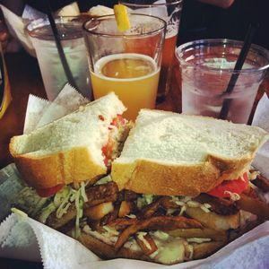 Turkey & Cheese Sandwich at Lucky's Sandwich Co.