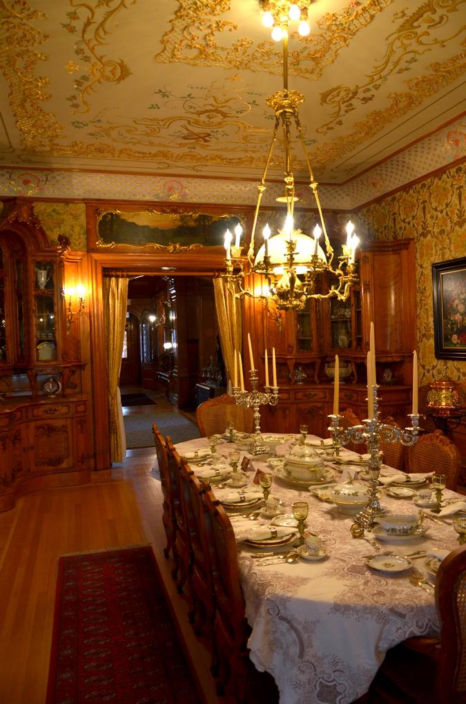 Dining room, Pabst Mansion