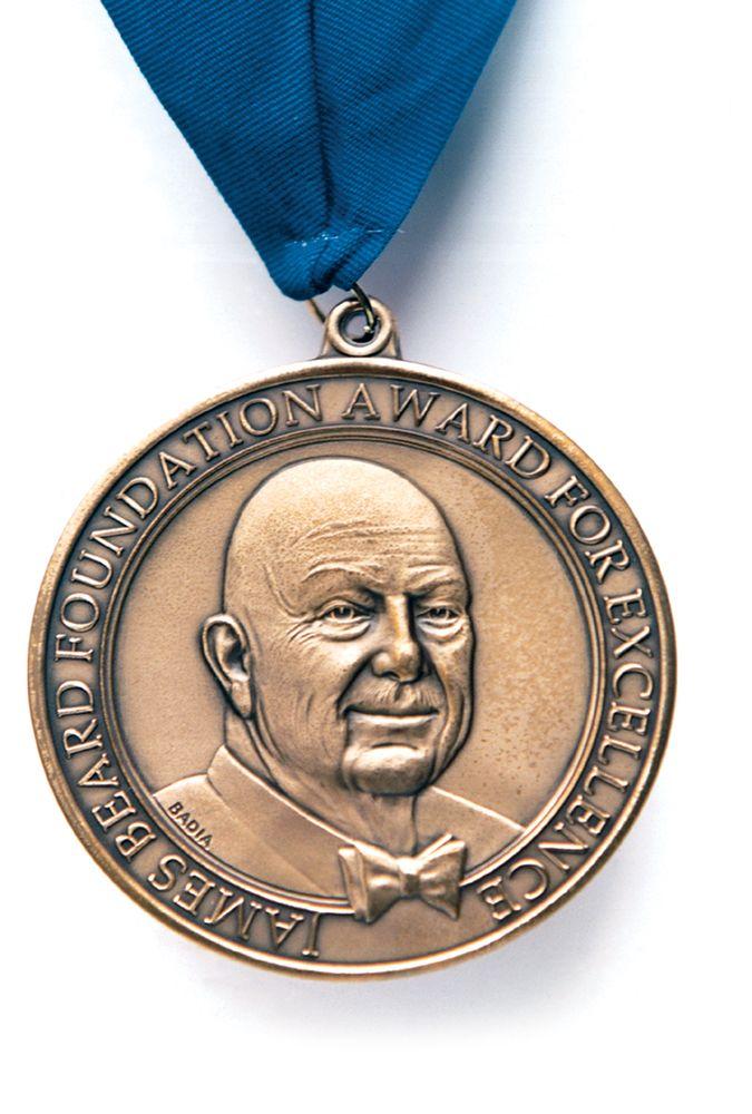 James Beard Award medallion