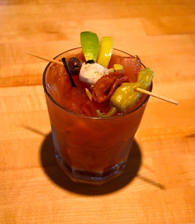 Bloody Mary Rustico