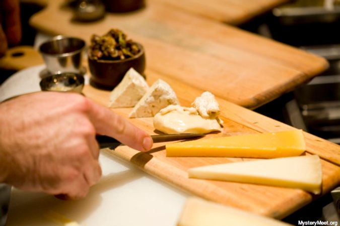 Cheese plate 6