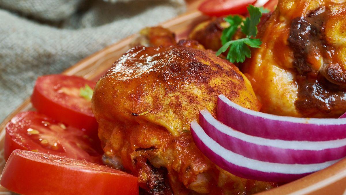 Bengali Mutton Bhuna Kosha Mangsho, rich and spicy mutton or lamb curry