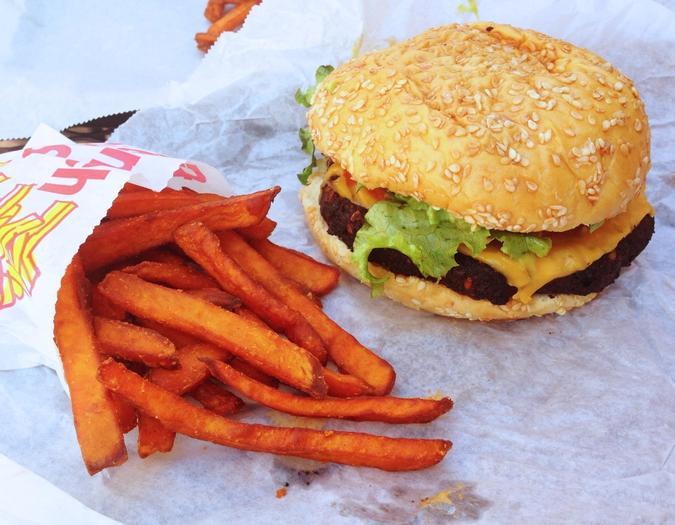 Bobbie's Black Bean Burger