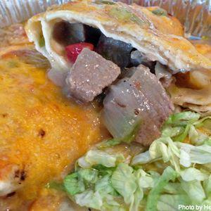 Rito's Green Chile Pork Burrito