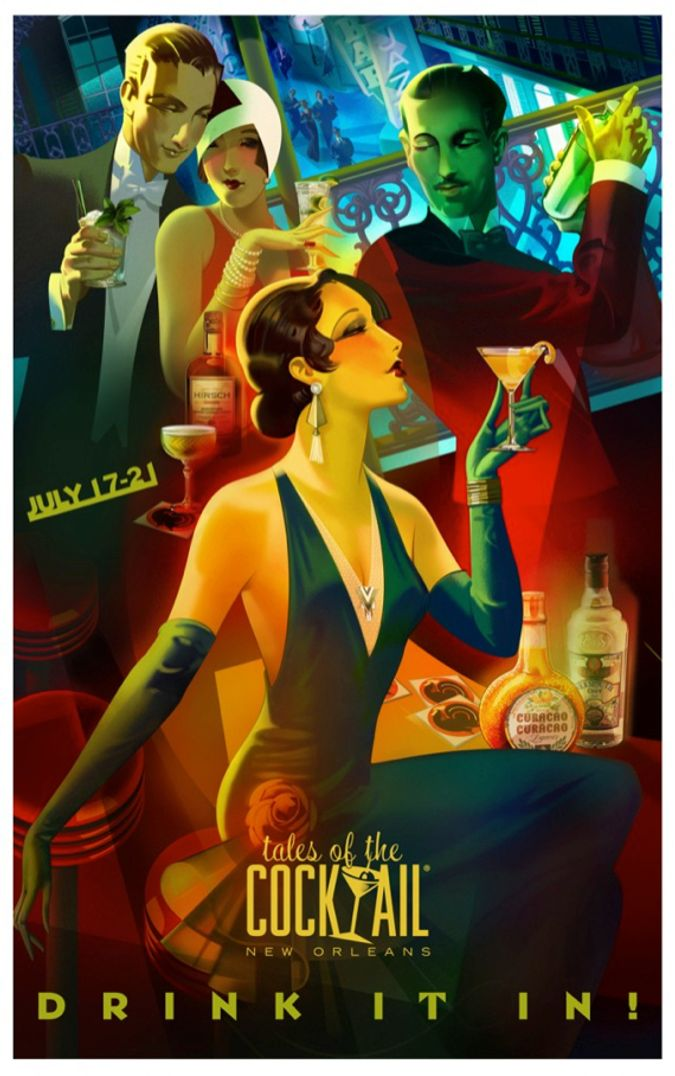 Tales of the Cocktail 2013 Poster