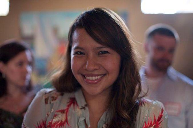 Bianca Garcia at Pizzeria Posto