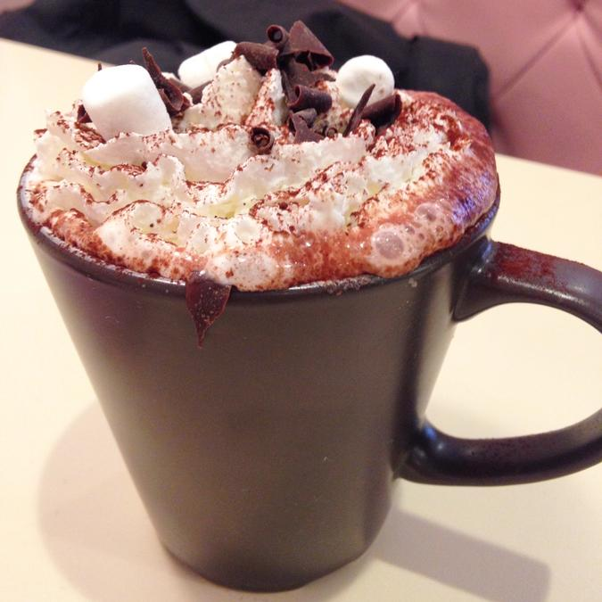 The best dressed hot chocolate in town
