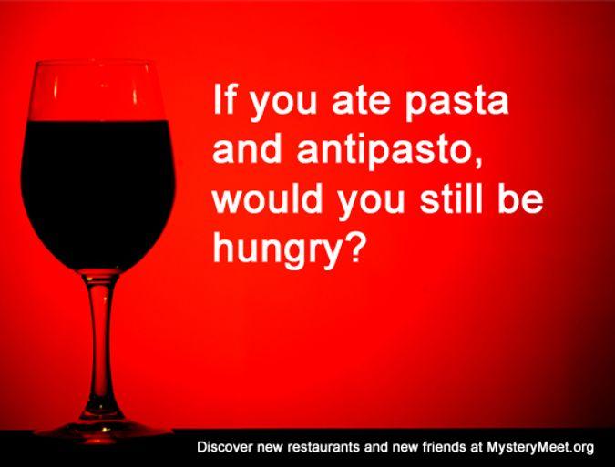 Pasta and Antipasto