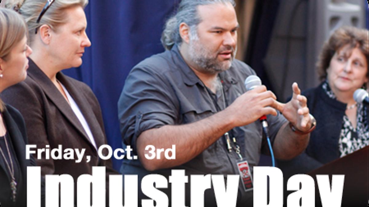 Friday, October 3rd: Industry Day