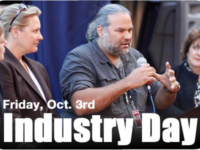 Friday, October 3rd: Industry Day