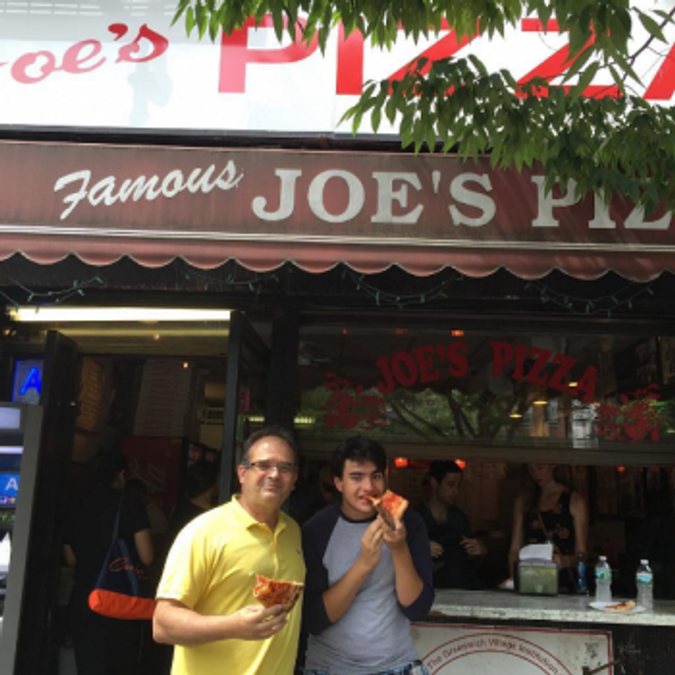 Slice of Pizza from Famous Joe's