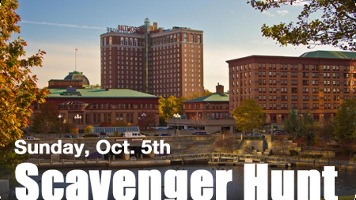 Sunday, October 5th: Scavenger Hunt
