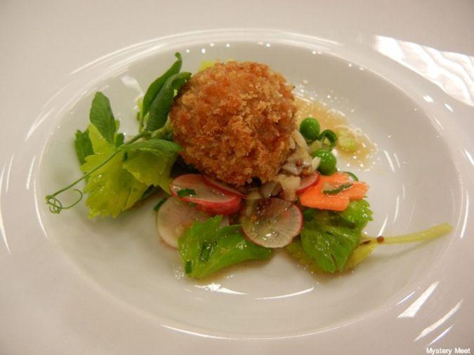 Chef Hilary White's winning dish