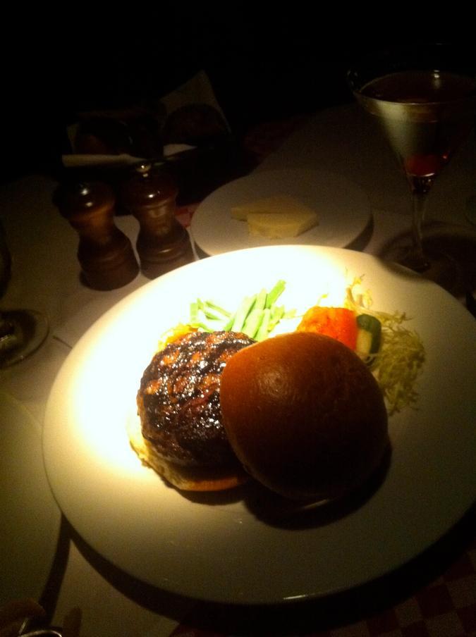 Burger at Bar Room at 21 Club