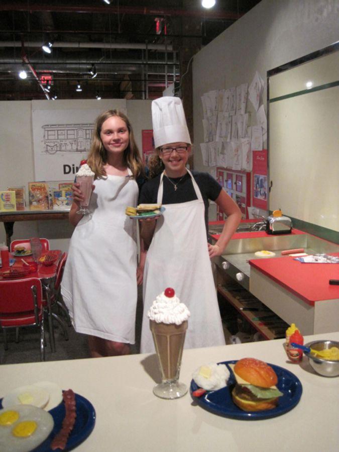Diner Exhibit little chefs
