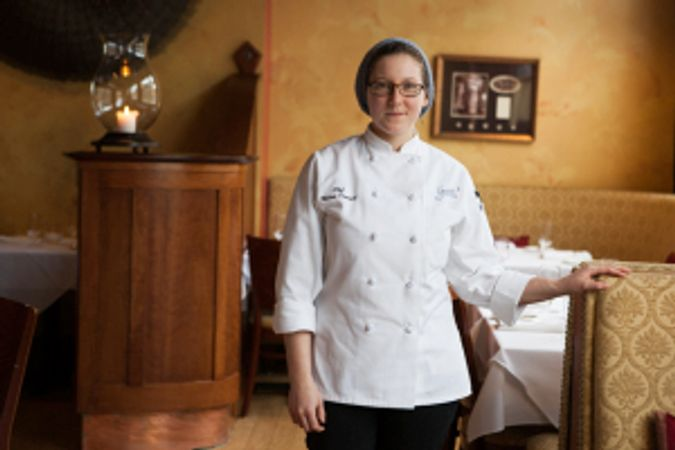 Pastry Chef Melissa Denmark of Gracie's of Providence, Rhode Island