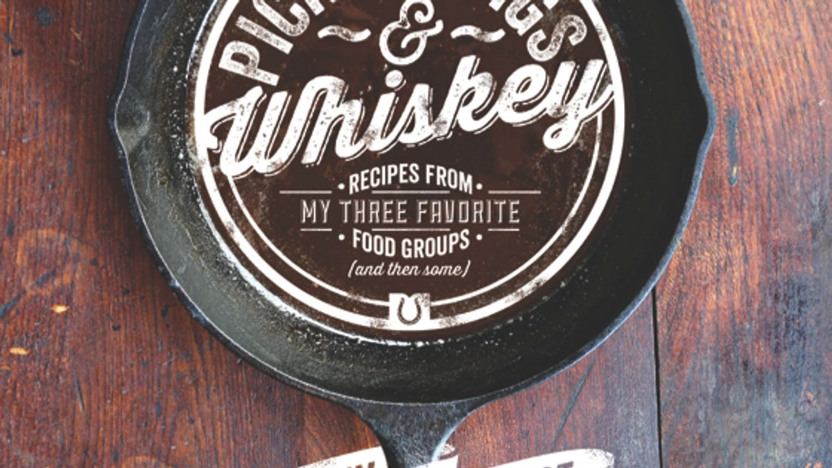 Pickles, Pigs & Whiskey. Book Jacket