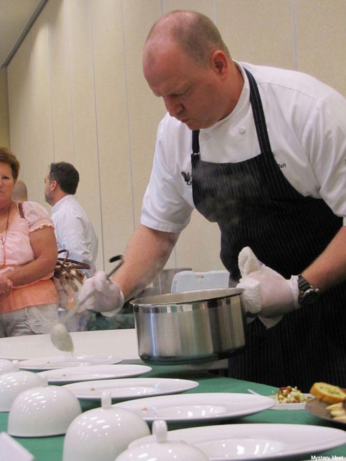 Chef Marc Taft at Golden Onion 2012
